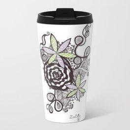 Zen Rose of Daisy Travel Mug