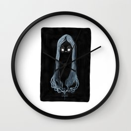 Deaths Head Wall Clock