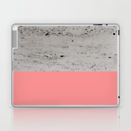 Light Coral on Concrete #2 #decor #art #society6 Laptop & iPad Skin