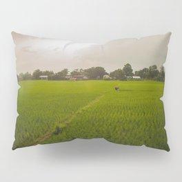 The Rice Paddies of Nepal 001 Pillow Sham