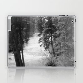Crashing Through Trees Laptop & iPad Skin