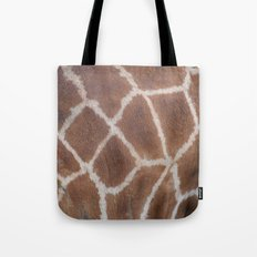 Giraffe pattern Tote Bag