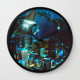 City Cruising Wall Clock