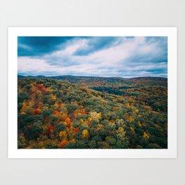 ColorFall Landscape Art Print