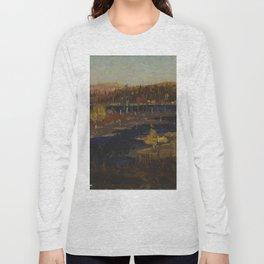 Tom Thomson Autumn Evening, Burnt Land 1912 or 1913 Canadian Landscape Artist Long Sleeve T-shirt