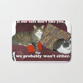 Cat Meme Bath Mat