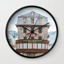 Hotel Belvedere, Switzerland Wall Clock