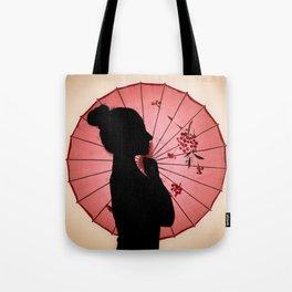 Jappo silhouette Tote Bag