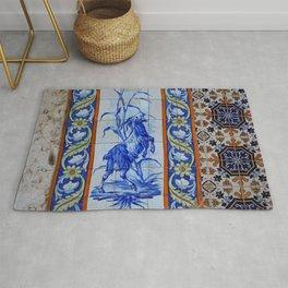 Goat Vintage Mosaic Tiles Rug