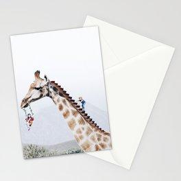 Giraffe Playground Stationery Cards