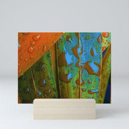 Tropical Raindrops Mini Art Print