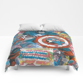 The American Superhero - Comic Art Comforters