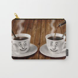 Hot Coffee Time in the Kitchen Carry-All Pouch
