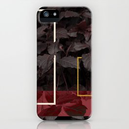 Burgundy Fall #society6 #decor #buyart iPhone Case