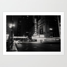 Chicago Theatre ... Art Print