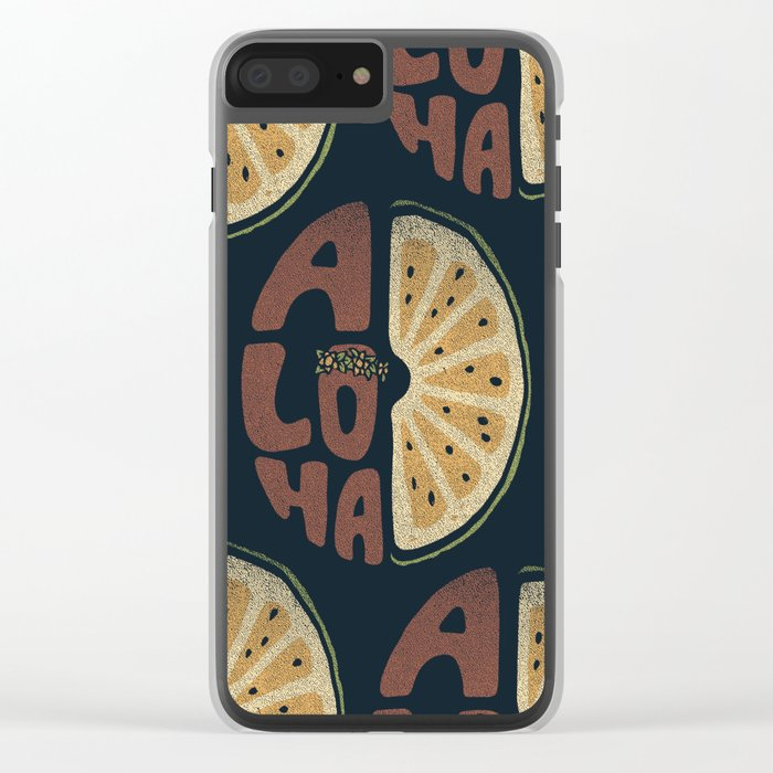 Aloha! Clear iPhone Case