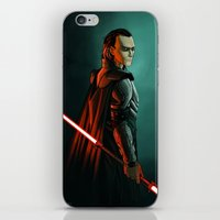 sith iPhone & iPod Skins featuring Loki: Sith Lord by Andrew Sebastian Kwan