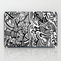 chaos iPad Cases featuring chaos by Viyenno Design