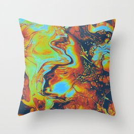 CANDLELIGHT EXCHANGES Throw Pillow