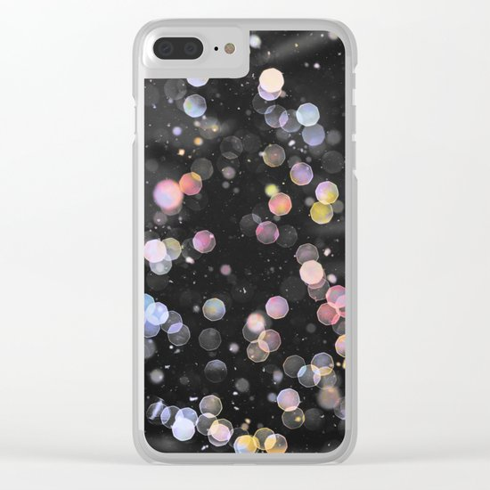 Tannenbaum Bokeh Clear iPhone Case