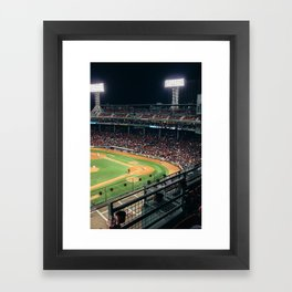 Fenway Park, Boston Framed Art Print