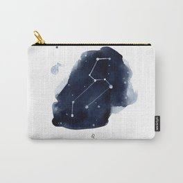 Zodiac Star Constellation - Leo Carry-All Pouch