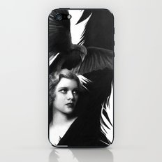 Lady and the Raven iPhone & iPod Skin