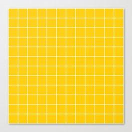 Sunshine Grid Canvas Print