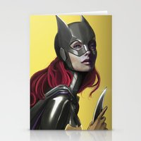 batgirl Stationery Cards featuring BATGIRL by corverez