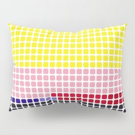 Girl with Hair Ribbon (Roy Lichtenstein) color-sorted Pillow Sham