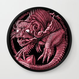 Slowpoke the Pokedemon of procrastination Wall Clock