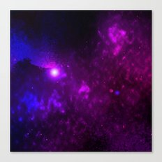 Purple Red and Blue Canvas Print