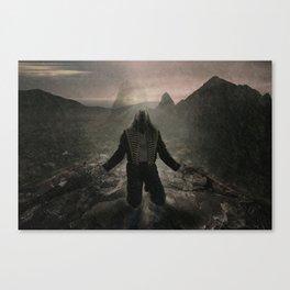 Hard Road Canvas Print