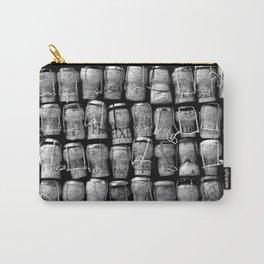 Something Nostalgic #4 Black and White #decor #society6 #buyart Carry-All Pouch