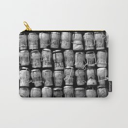 Something Nostalgic 4 Black and White #decor #society6 #buyart Carry-All Pouch