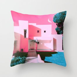 House of the Occult Throw Pillow