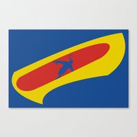 cyclops Canvas Prints featuring Cyclops by Adam Grey