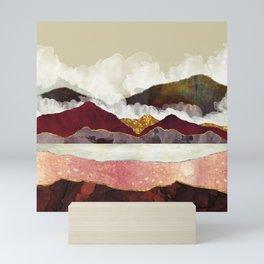 Melon Mountains Mini Art Print