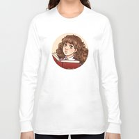 hermione Long Sleeve T-shirts featuring Young Hermione by Kata (koomalaama)