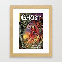 GHOST COMICS Framed Art Print