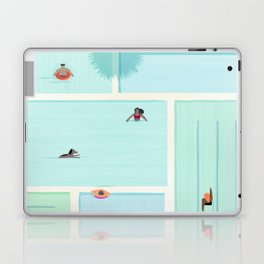Saturdays At The Pool Laptop & iPad Skin