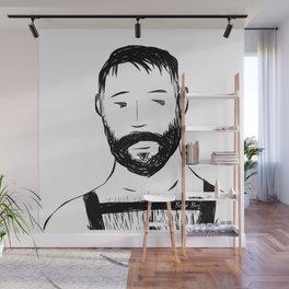 Beard Boy Harness 1 Wall Mural