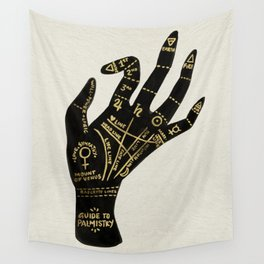 Palmistry Wall Tapestry