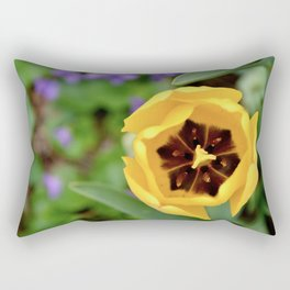 Sun Tulip Rectangular Pillow