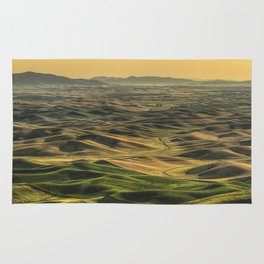 Shades of the Palouse Rug