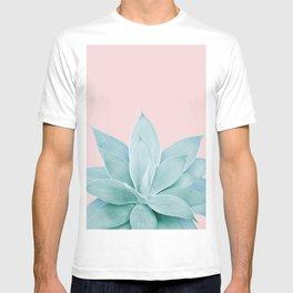 Blush Agave #2 #tropical #decor #art #society6 T-shirt