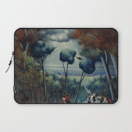 African-American 1927 Classical Masterpiece 'Town of Hope' by Archibald Motley Laptop Sleeve