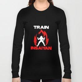 Train Insaiyan Tank Top Bro Dbz Super Saiyan Gym Dragon Ball  Vegeta T-Shirts Long Sleeve T-shirt