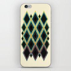 Diamond pattern iPhone & iPod Skin