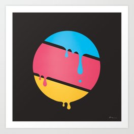 PLANET DROOLE Art Print